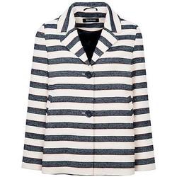 Vêtements Femme Vestes / Blazers Anastasia - Stripe Femme Printemps Vest Blue