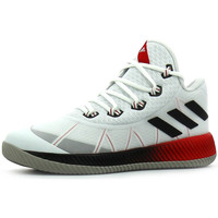 Chaussures Homme Basketball adidas Performance Light Em Up 2017 FTWR White / Reflective / Scarlet