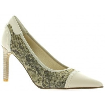 Chaussures Femme Escarpins Elizabeth Stuart Escarpins cuir python  sable Sable