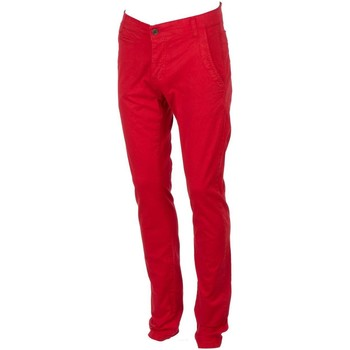 Vêtements Homme Chinos / Carrots Biaggio Tarelta red pant chino Rouge