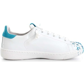 Chaussures Femme Baskets basses 2 Stars 2SD1463 Basket Femme White/Turquoise White/Turquoise