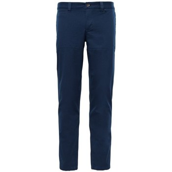 Vêtements Homme Pantalons 5 poches The North Face PANTALON RANDONNE MOUTAIN HOMME BLEU MARINE