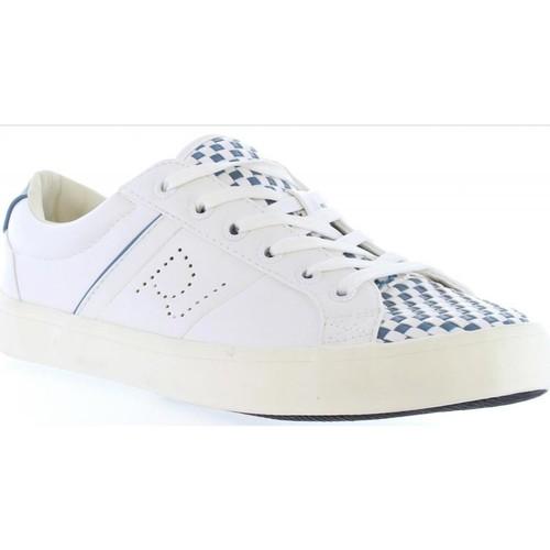 Chaussures Femme Baskets basses Pepe jeans PLS30309 CLINTON Blanco