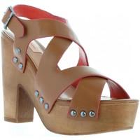 Chaussures Femme Sandales et Nu-pieds Pepe jeans PLS90152 JOPLIN Marr?n