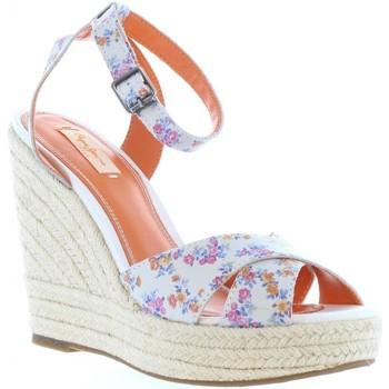 Chaussures Femme Espadrilles Pepe jeans PLS90176 WALKER 800 WHITE Blanco