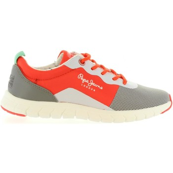 Chaussures Enfant Baskets mode Pepe jeans PBS30160 COVEN Naranja