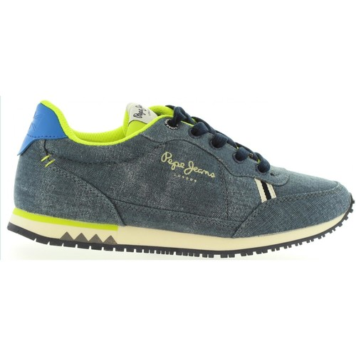 Chaussures Enfant Baskets mode Pepe jeans PBS30200 SYDNEY Azul