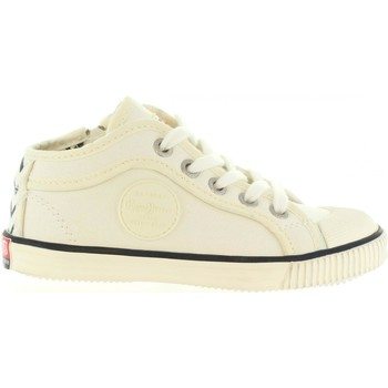 Chaussures Enfant Baskets mode Pepe jeans PBS30203 INDUSTRY Blanco
