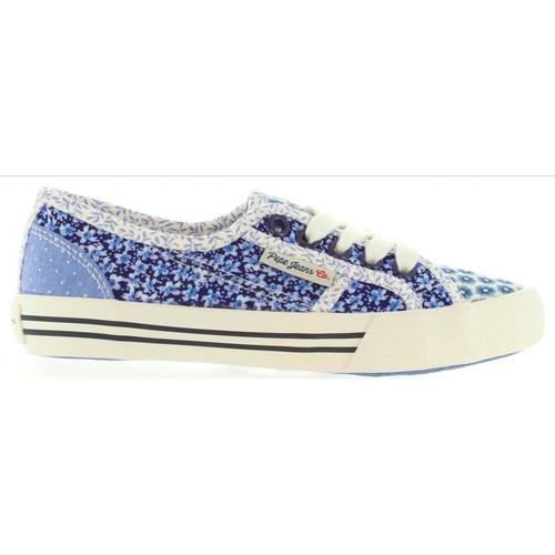Chaussures Enfant Baskets mode Pepe jeans PGS30186 BAKER Azul