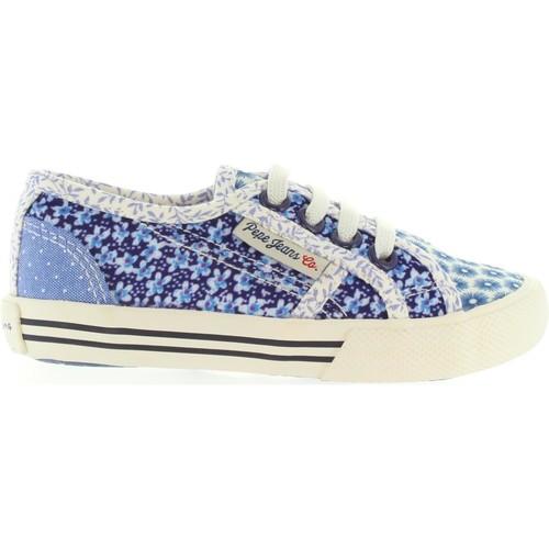 Chaussures Enfant Baskets mode Pepe jeans PGS30199 BAKER Azul