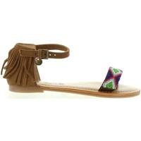 Chaussures Fille Sandales et Nu-pieds Pepe jeans PGS90055 MAYA Marrón