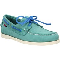 Chaussures Homme Chaussures bateau Sebago Docksides velours Teal Teal
