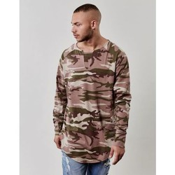 Vêtements Homme T-shirts manches longues Cayler & Sons T-shirt Manches Longues  Doomed Scallop Camouflage Camouflage