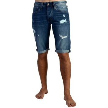 Vêtements Homme Jeans Pepe jeans Short  Cash Short Denim Bleu