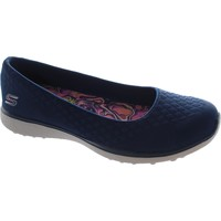 Chaussures Femme Ballerines / babies Skechers One-Up Bleu