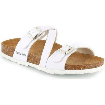 Chaussures Femme Mules Grunland  BIANCO