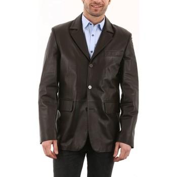 Vêtements Homme Vestes en cuir / synthétiques Milpau AH 2005 Marron Marron