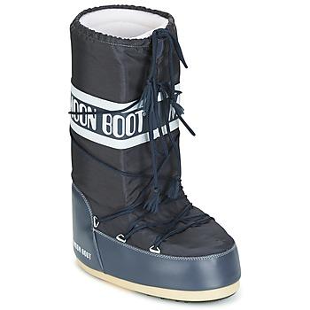 Chaussures Bottes de neige Moon Boot MOON BOOT NYLON Denim