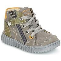 Chaussures Garçon Boots Primigi PSM 8028 Gris