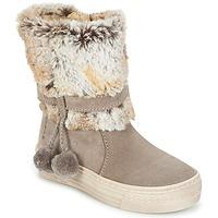 Chaussures Fille Boots Primigi PSA 8164 Gris rosé