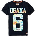 Superdry T-shirt  Osaka Hibiscus Eclipse Navy