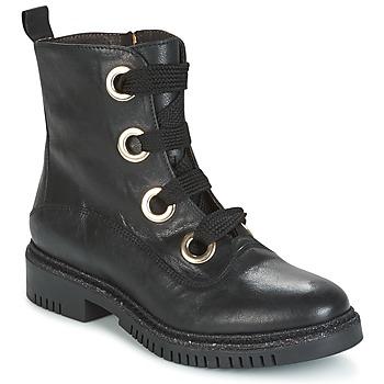 Chaussures Femme Boots Café Noir MAR Noir