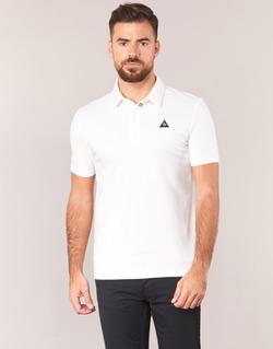 Vêtements Homme Polos manches courtes Le Coq Sportif LCS TECH POLO Blanc