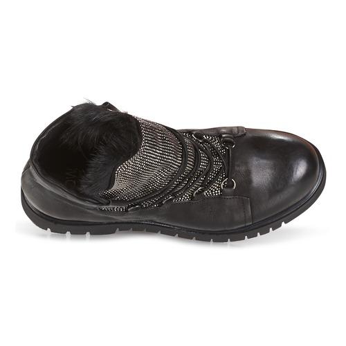 Now Chaussures Boots Bianco Noir Femme srtCxhQd
