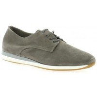 Chaussures Femme Derbies Pao Derby cuir velours Gris
