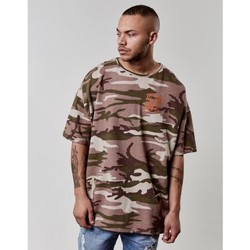 Vêtements Homme T-shirts manches courtes Cayler & Sons T-shirt  Doomed Oversized Drop Shoulder Tee Camouflage Camouflage