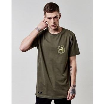 Vêtements Homme T-shirts manches courtes Cayler & Sons T-shirt  FRDM Long Scallop Back Tee Olive Olive