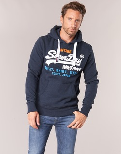 Vêtements Homme Sweats Superdry SHIRT STORE TRI Marine