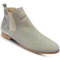 Chaussures Femme Bottines Hirica Boots plates Gris BOLIVIE Gris