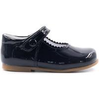 Chaussures Fille Ballerines / babies Boni Classic Shoes Boni Princesse II - Chaussure fille premiers pas Vernis Bleu