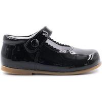 Chaussures Fille Ballerines / babies Boni Classic Shoes Boni Princesse II - Chaussure fille premiers pas Vernis Noir