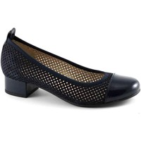 Chaussures Femme Ballerines / babies Pregunta cuir  PO21656 chaussures bleues femme decolt danseur perforé Blu