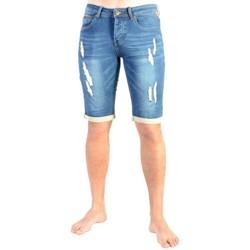 Vêtements Homme Shorts / Bermudas Deeluxe Short Turner S17750 Blue Bleu