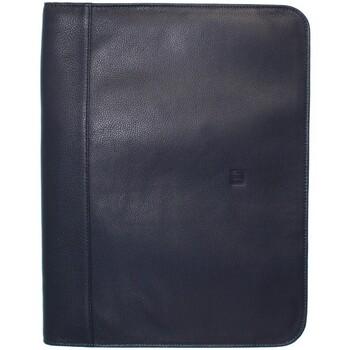 Sacs Homme Porte-Documents / Serviettes Hexagona Conférencier  en cuir ref_40626/48615 marine Bleu