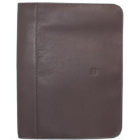 Sacs Homme Porte-Documents / Serviettes Hexagona Conférencier  en cuir ref_40626/48615 taupe Marron
