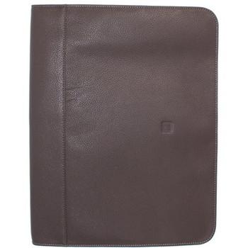 Sacs Homme Porte-Documents / Serviettes Hexagona Conférencier  en cuir ref_40626/48615 taupe Marron