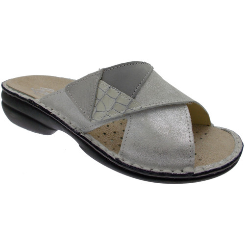 Loren LOM2657bi bianco - Chaussures Mules Femme