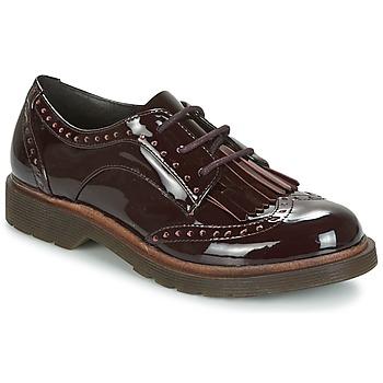 Chaussures Femme Derbies Coolway PRAGA Bordeaux