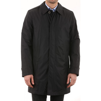 Vêtements Homme Vestes en cuir / synthétiques Mac Douglas Drake Noir (textile) Noir