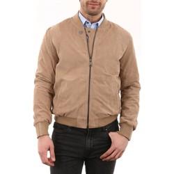 Vêtements Homme Vestes en cuir / synthétiques Giorgio Ronaldo Velours Dune Sable