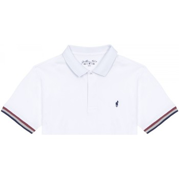 Vêtements Homme Polos manches courtes Gentleman Farmer Polo Oliver Blanc
