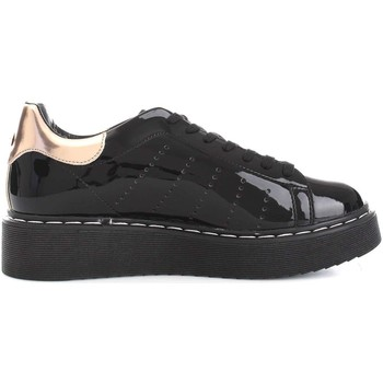 Cult CLE102234 Lace up shoes Femme Noir Noir - Chaussures Baskets basses Femme