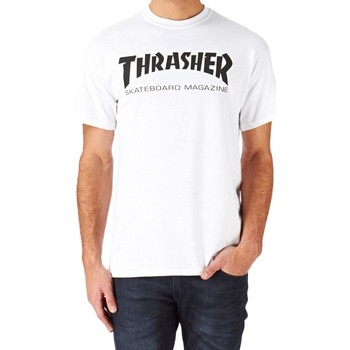 Vêtements Homme T-shirts manches courtes Thrasher CAMISETA  SKATE MAG BLANCO HOMBR Blanc