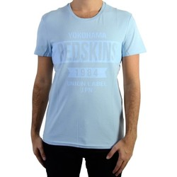 Vêtements Homme T-shirts manches courtes Redskins Tee Shirt  Softball2 Calder Sky Blue Bleu