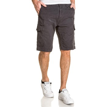 Vêtements Homme Shorts / Bermudas Petrol Industries Short homme cargo multipoches noir noir