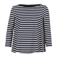 Vêtements Femme Tops / Blouses Petit Bateau LAURENI Blanc / Marine